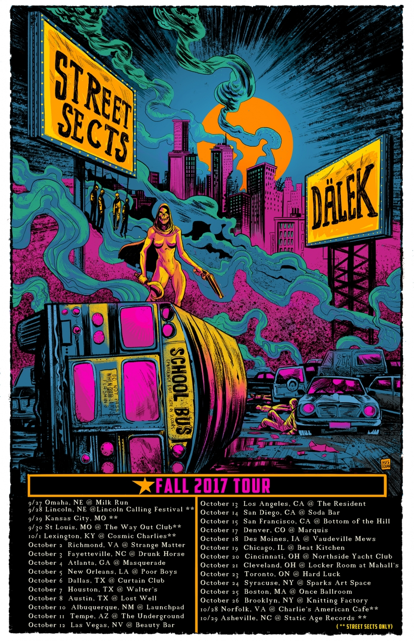 street sects tour poster