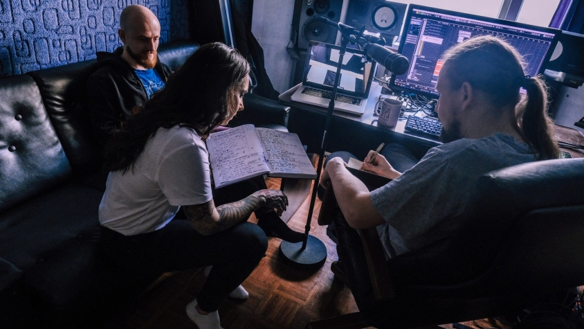 Tatiana Jinjer Lyrics with Producer 2021 Studio , Oleg Rooz