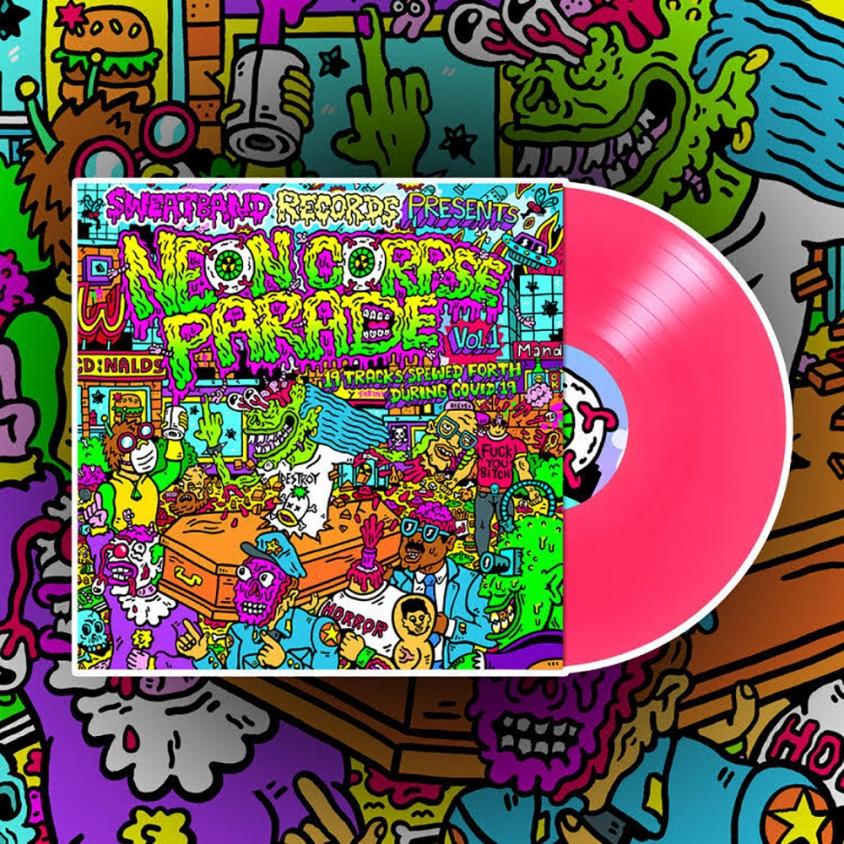 neon corpse parade cover art