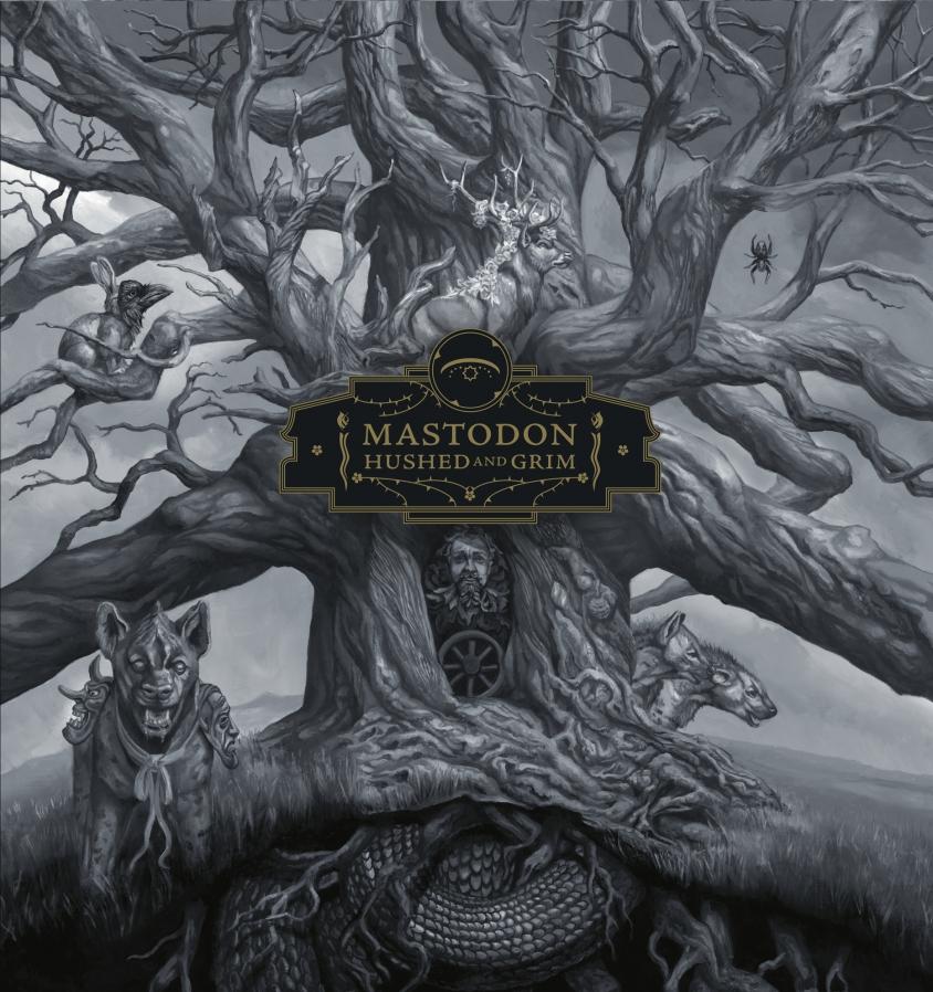 Mastodon Hushed and Grim artwork