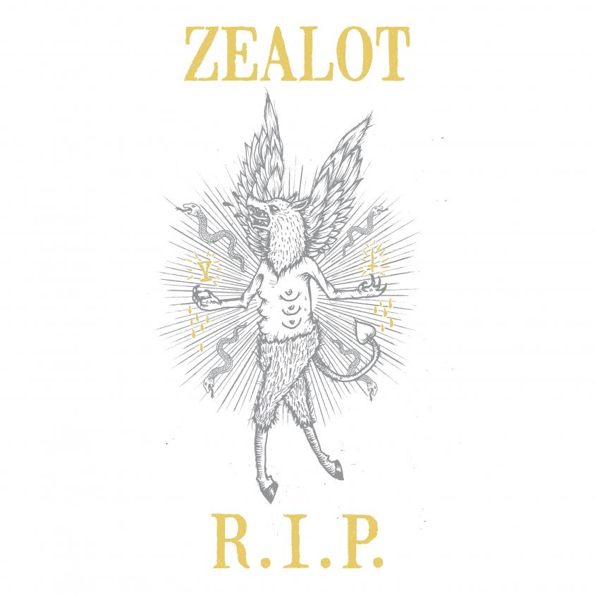 Zealot R.I.P. The Extinction of You artwork