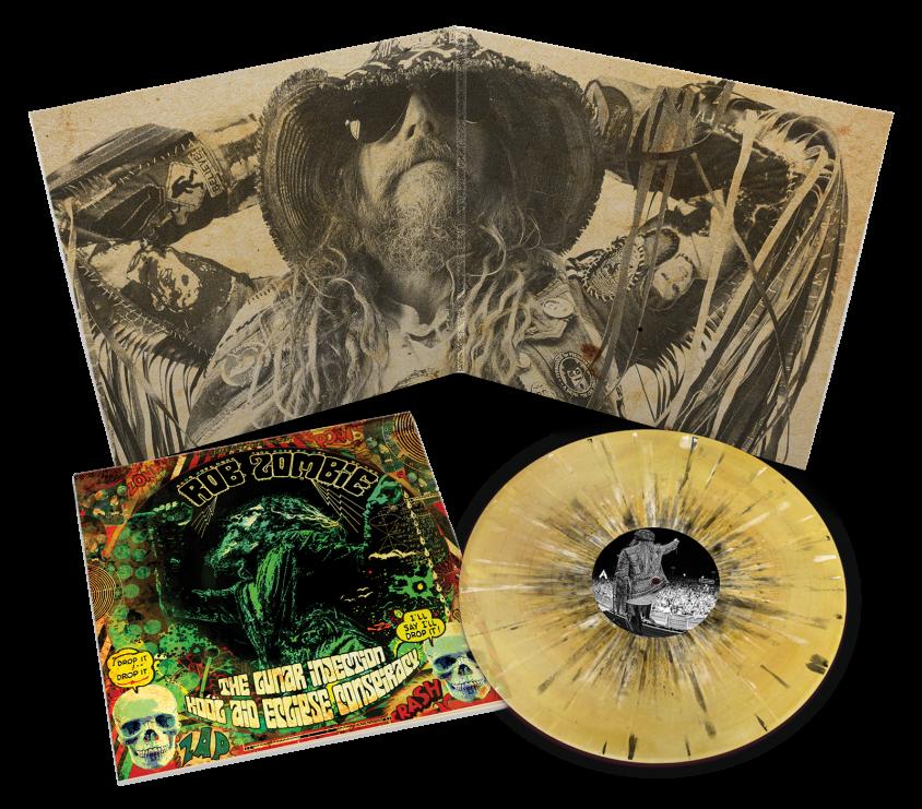 rob zombie new album vinyl product shot 2 gatefold