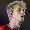 mgknot.jpg, Daniel Boczarski/Getty Images (MGK) and Steve Thrasher (Slipknot)