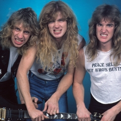 megadeth 1986 GETTY, Mark Weiss/WireImage
