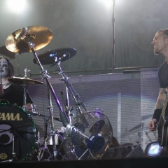 Joey Jordison Metallica 2004, Mick Hutson / Redferns
