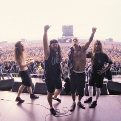 pantera 1991 monsters of rock GIRON, Joe Giron