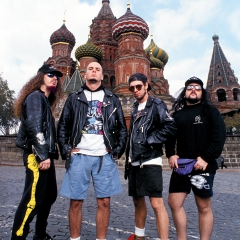 Pantera in Russia 1991 Joe Giron, Joe Giron